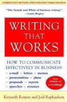 Writing That Works  3rd Edition PDF