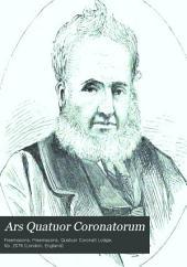 Ars Quatuor Coronatorum: Being the Transactions of the Quatuor Coronati Lodge No. 2076, London, Volume 9