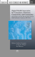 Digital Health Innovation for Consumers  Clinicians  Connectivity and Community PDF