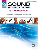Download Sound Innovations for String Orchestra  Bk 1 Book