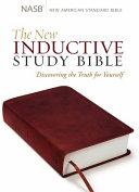 The New Inductive Study Bible Milano SoftoneTM  NASB