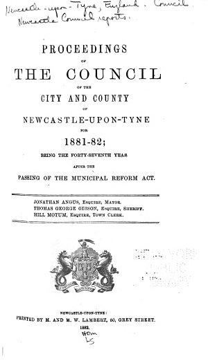 Newcastle Council Reports