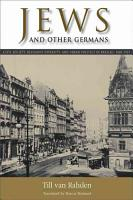 Jews and Other Germans PDF