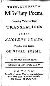Miscellany Poems: Volume 4