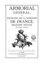 Armorial général de la France: Volume2