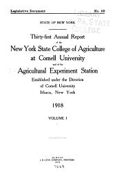Annual Report: Volume 31, Part 1