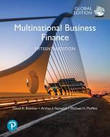 Multinational Business Finance  eBook  Global Edition PDF