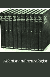 The Alienist and Neurologist: Volume 29