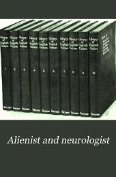 The Alienist and Neurologist: Volume 29