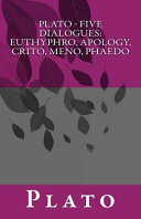 Plato   Five Dialogues PDF