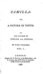 Camilla, Or, A Picture of Youth