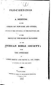 Annual Report of the American Bible Society: Volumes 1-5