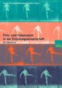 Film  und Fotoanalyse in der Erziehungswissenschaft PDF