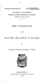 Water-supply and Irrigation Papers of the United States Geological Survey: Issues 184-192