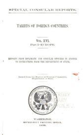 U.S. consular reports, Special