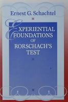 Experiential Foundations of Rorschach s Test PDF
