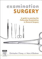 Examination Surgery PDF