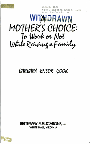A Mother s Choice