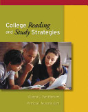 College Reading and Study Strategies PDF