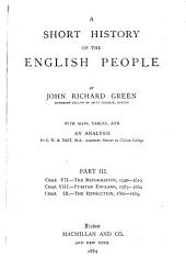 A Short History of the English People: Volume 3