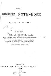 The Historic Note-book, with an Appendix of Battles