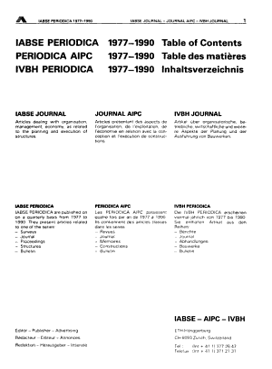 Iabse Periodica