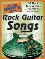 The Complete Idiot s Guide to Rock Guitar Songs PDF