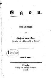 Egon: ein Roman, Teil 3