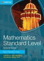 Mathematics Standard Level for IB Diploma Exam Preparation Guide PDF