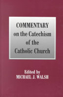 Commentary on the Catechism of the Catholic Church PDF