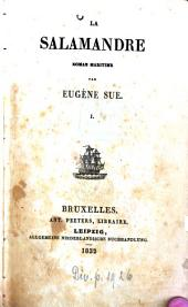 La Salamandre: Roman maritime, Volume1