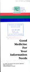 Good Medicine for Your Information Needs PDF