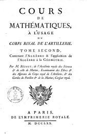 Cours de mathématiques: Volume2