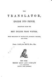 The Translator: English Into French