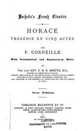 Horace: tragédie en cinq actes