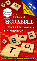 The Official Scrabble Players Dictionary  Fifth Edition Book