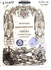 Diccionario geográfico-estadístico-histórico de España y sus posesiones de ultramar: Volumen 15
