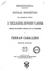 Fernan Caballero par Antoine de Latour