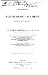 The Science of Gems  Jewels  Coins  and Medals  Ancient and Modern PDF