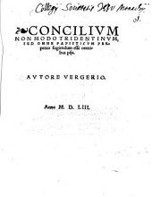 Concilium Non Modo Tridentinum, Sed Omne Papisticum Perpetuo fugiendum esse omnibus piis