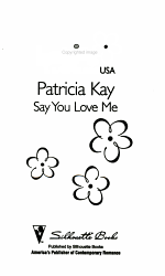 Say You Love Me Book PDF