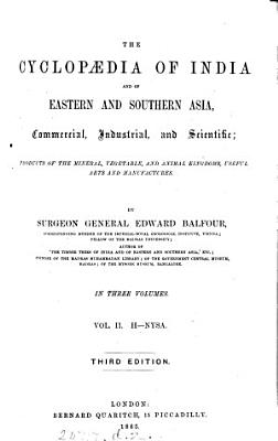 The Cyclop  dia of India and of Eastern and Southern Asia  Commercial Industrial  and Scientific PDF