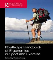 Routledge Handbook of Ergonomics in Sport and Exercise PDF
