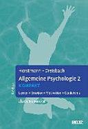 Allgemeine Psychologie 2 kompakt PDF
