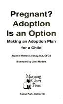 Pregnant  Adoption is an Option PDF