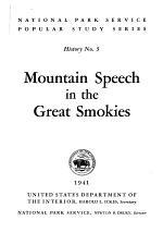 Mountain Speech in the Great Smokies