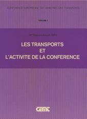 Les Transports et l'Activité de la Conférence : Rapport Général d'Activité. Vingt-Sixième Rapport Annuel (1979)