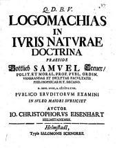 Logomachiae in iuris naturae doctrina
