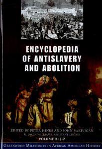 Encyclopedia of Antislavery and Abolition PDF