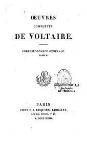 Oeuvres complètes de Voltaire: Volume38